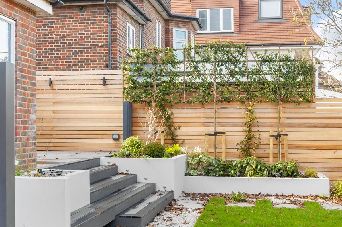 Hampstead Garden Decking Installation 6 min
