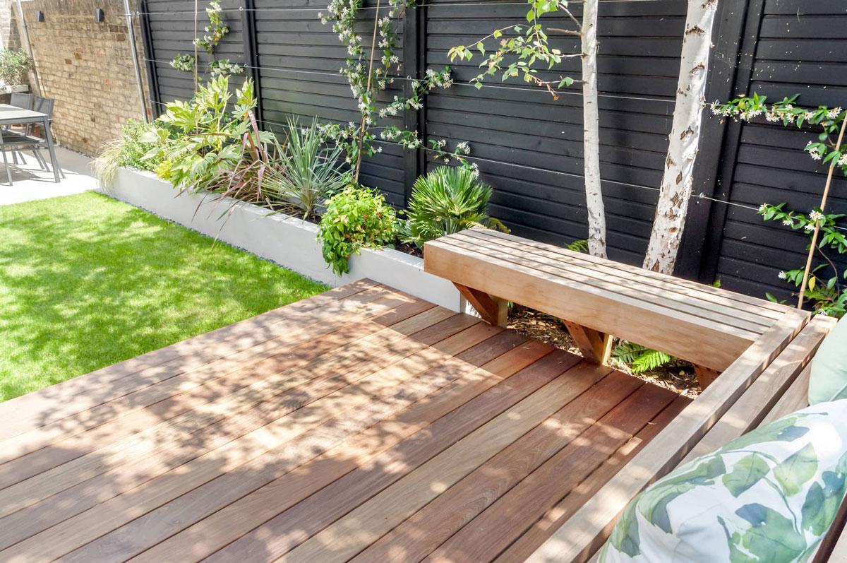 Highgate Garden Decking Installation 13 min