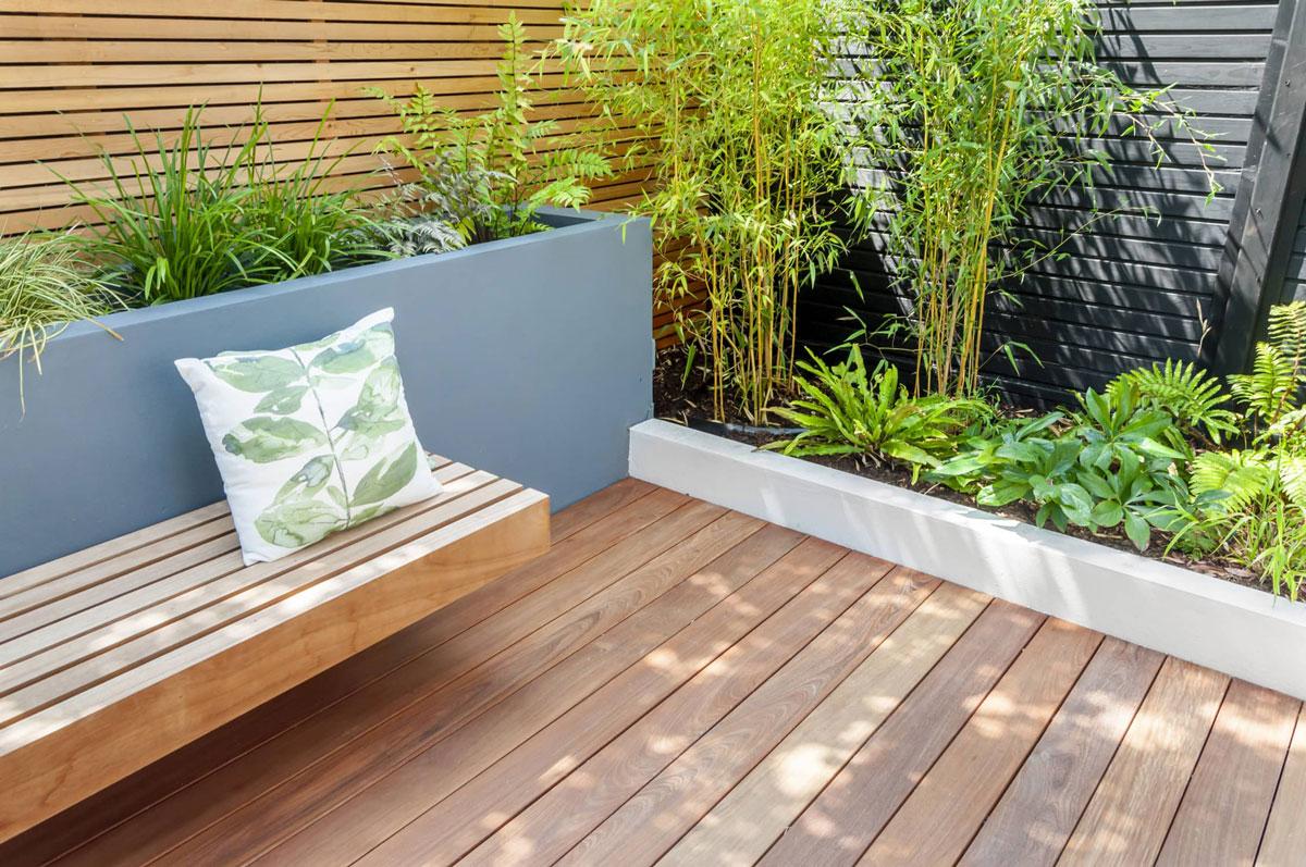 Highgate Garden Decking Installation 14 min