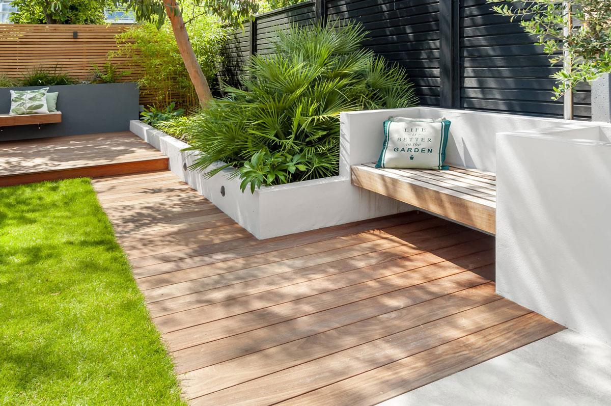 Highgate Garden Decking Installation 18 min