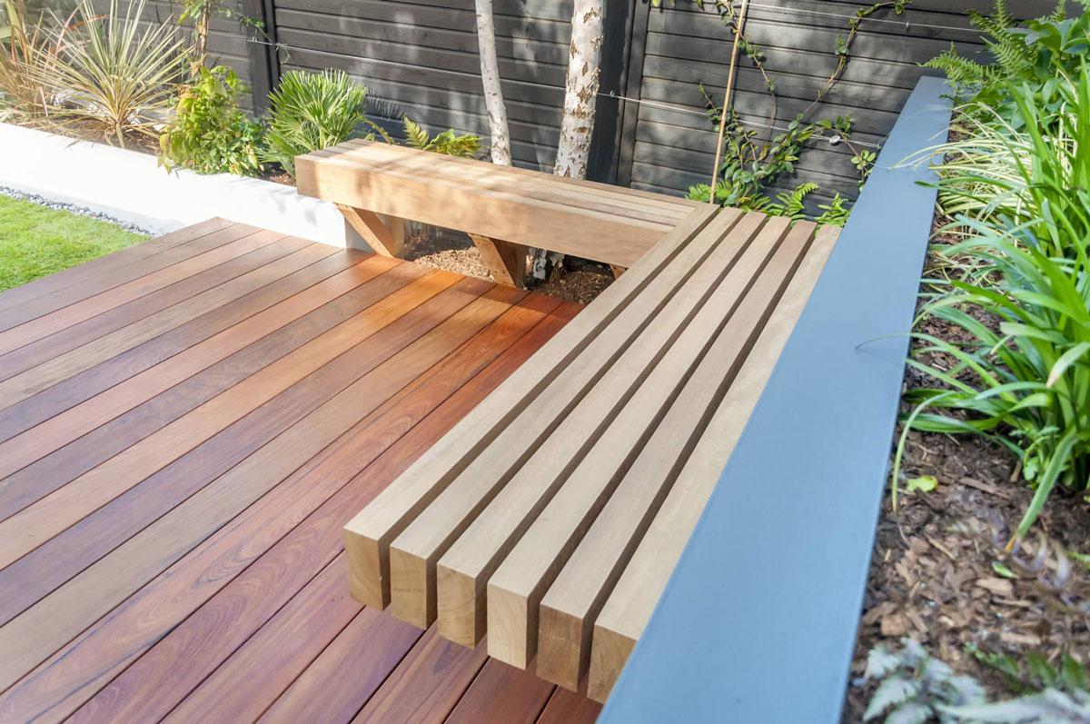 Highgate Garden Decking Installation 2 min