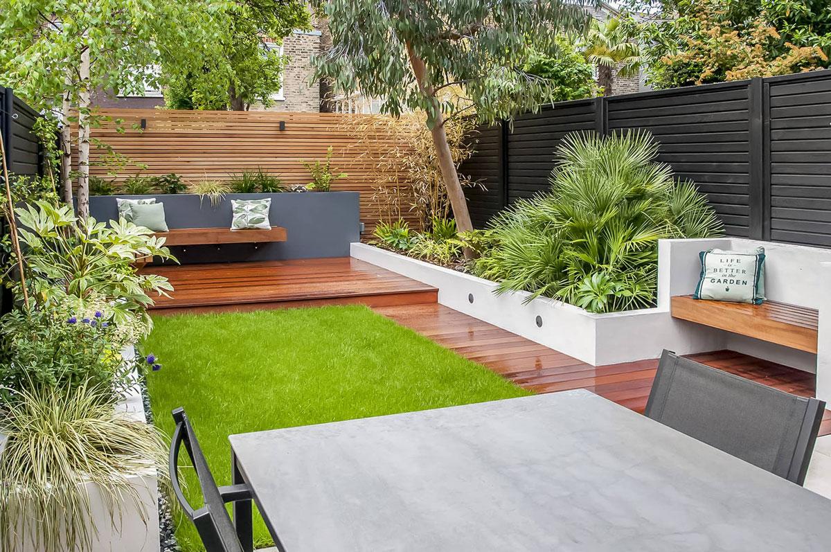 Highgate Garden Decking Installation 20 min