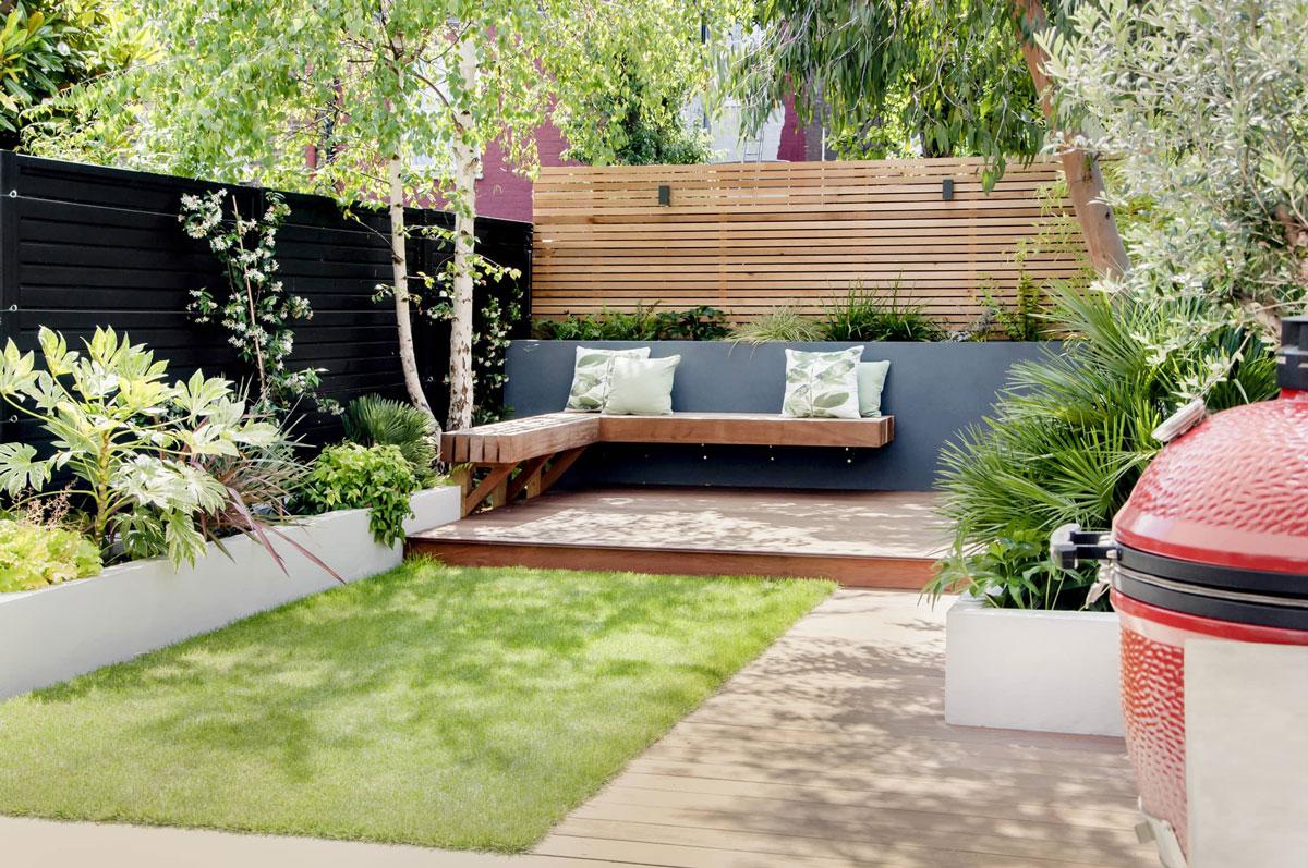 Highgate Garden Decking Installation 22 min