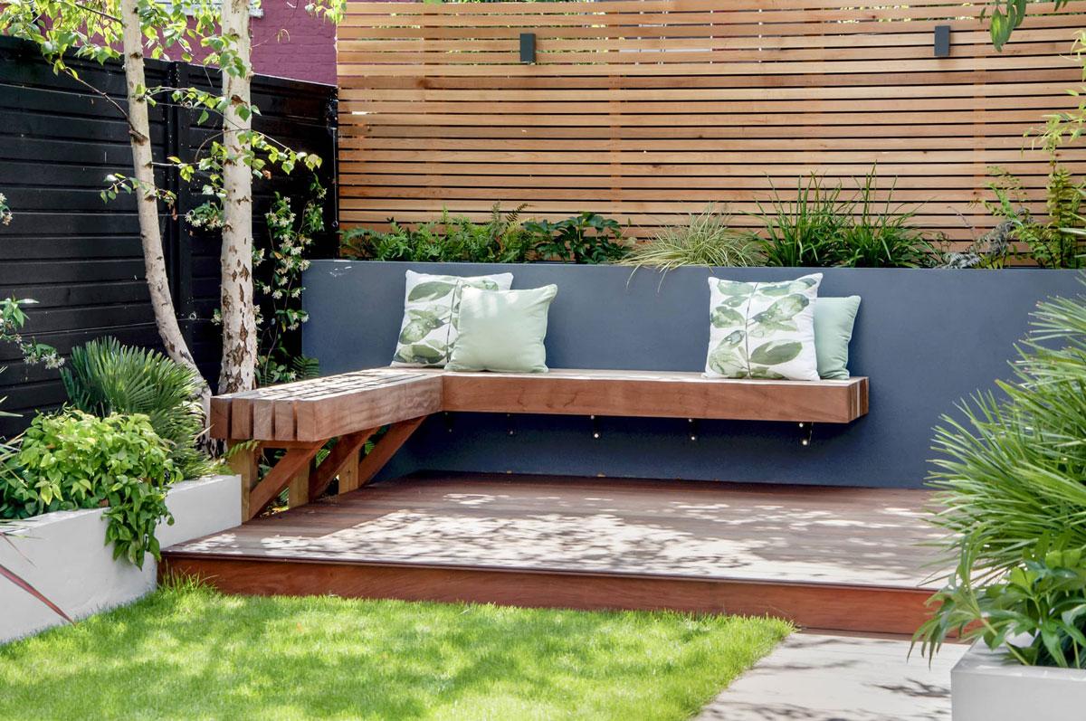 Highgate Garden Decking Installation 23 min