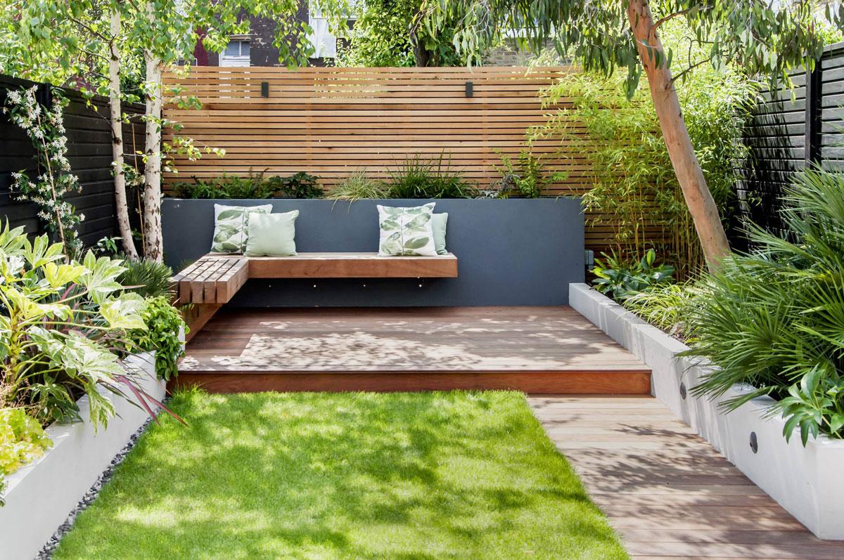 Highgate Garden Decking Installation 24 min