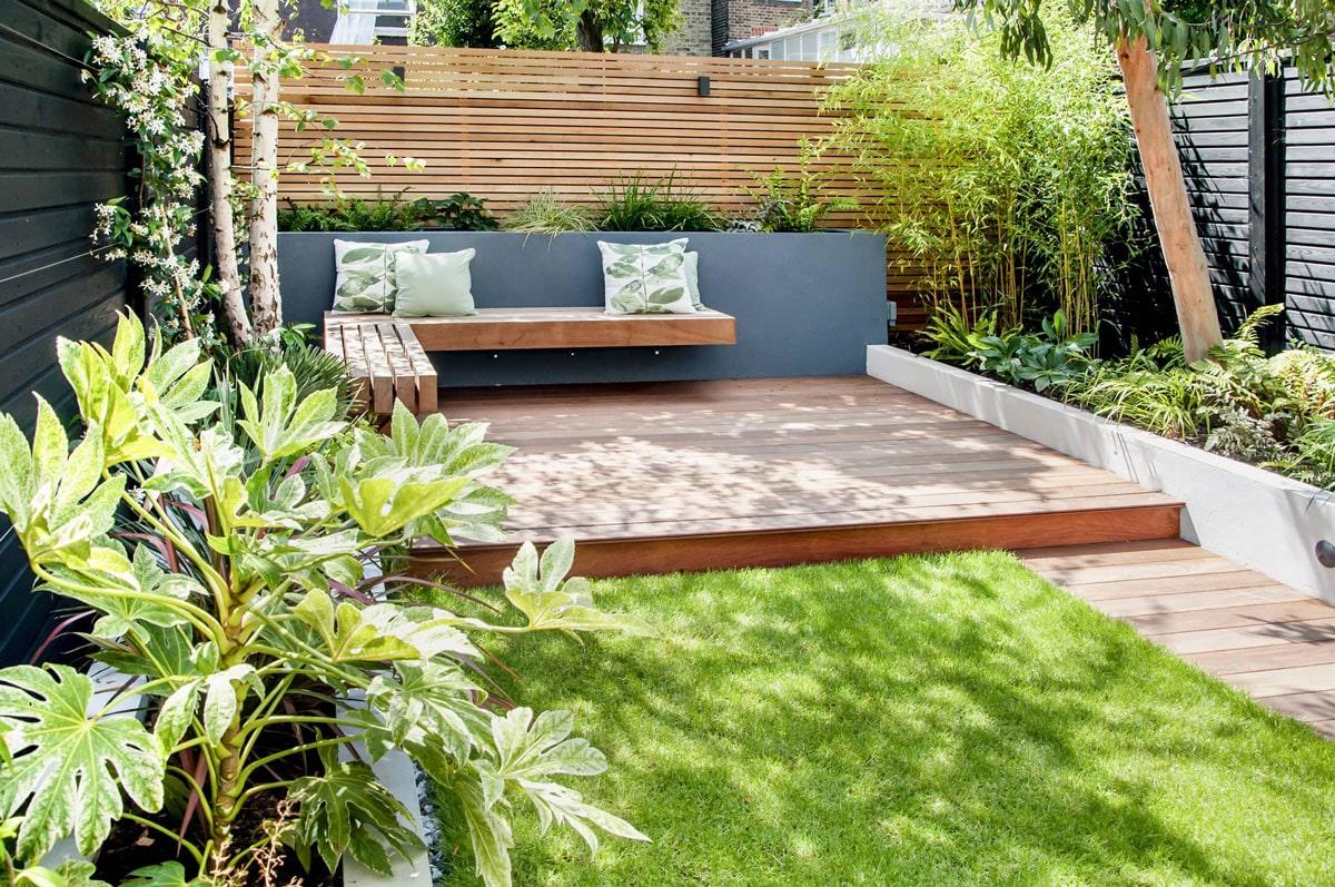 Highgate Garden Decking Installation 25 min