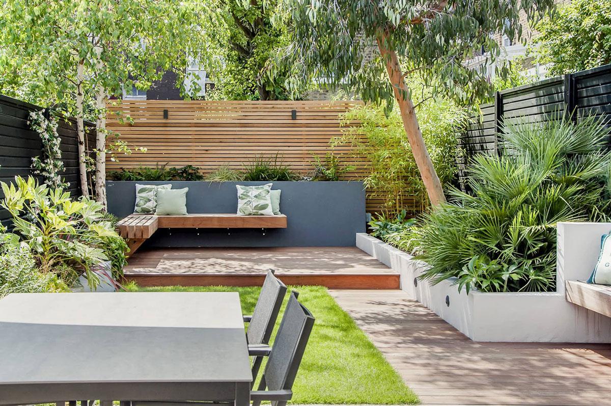 Highgate Garden Decking Installation 29 min