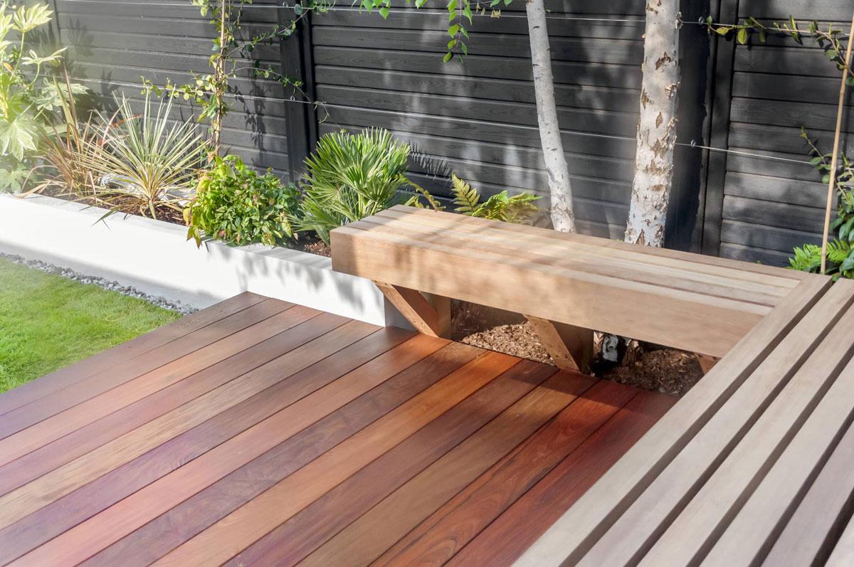 Highgate Garden Decking Installation 3 min
