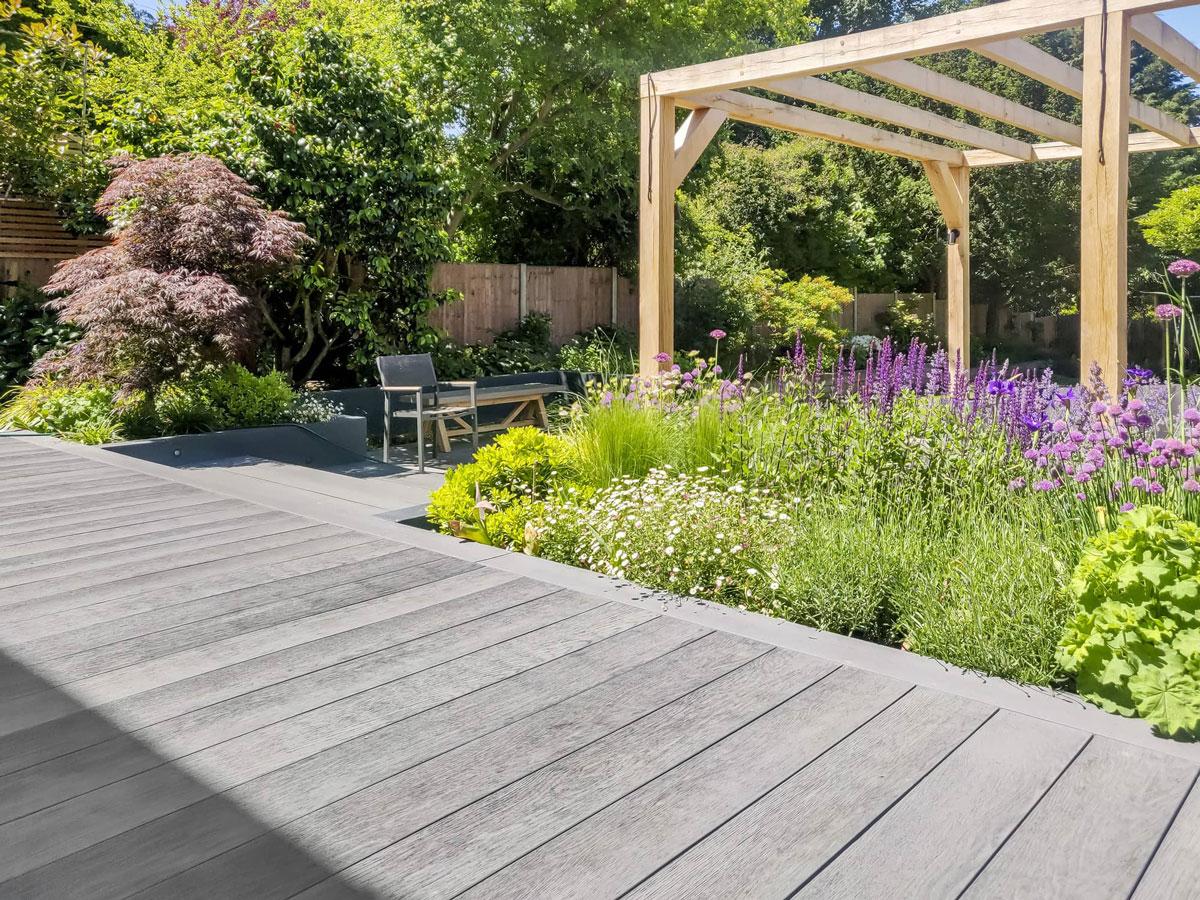 Whetstone Garden Decking Installation 15 min