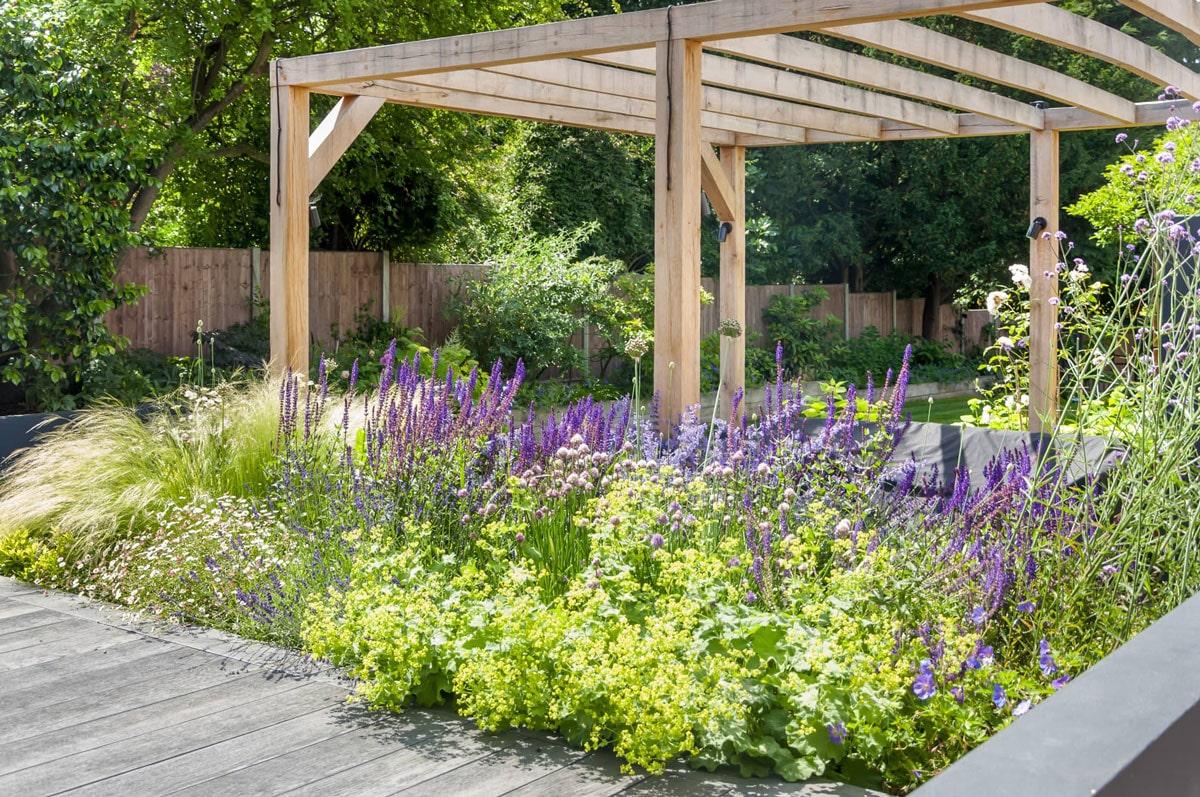Whetstone Garden Decking Installation 2 min