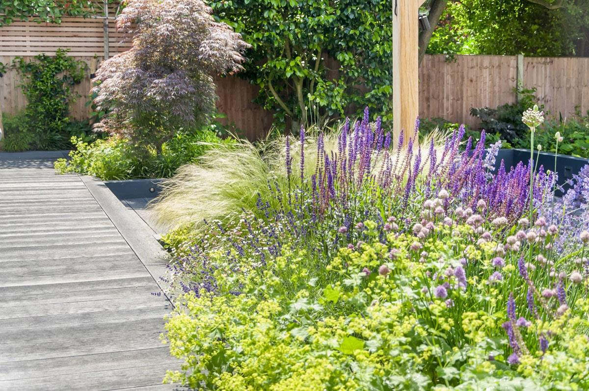 Whetstone Garden Decking Installation 3 min
